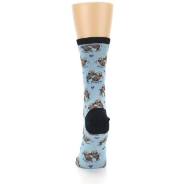 Image of Blue Significant Otter Women's Dress Socks (back-18)