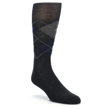 Smartwool Socks Charcoal Heather Diamond Jim