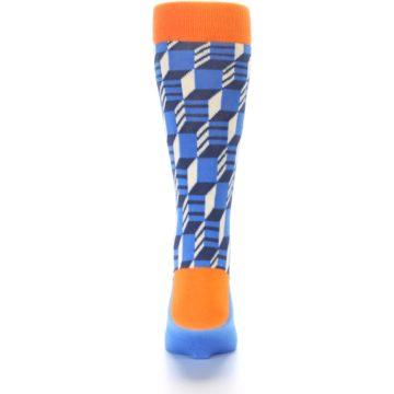 Image of Blue Orange Optical Men's Dress Socks (back-18)