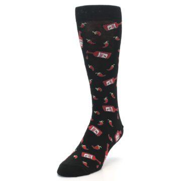 Image of Hot Sauce Men's Dress Socks (side-2-front-07)