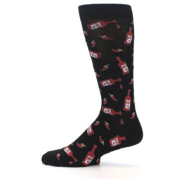 Image of Hot Sauce Men's Dress Socks (side-2-12)