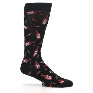 Image of Hot Sauce Men's Dress Socks (side-1-25)