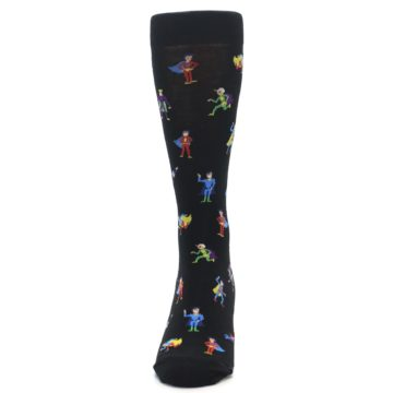 Image of Super Heros Men's Dress Socks (front-05)