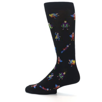 Image of Super Heros Men's Dress Socks (side-2-13)