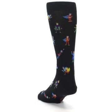 Image of Super Heros Men's Dress Socks (side-2-back-16)