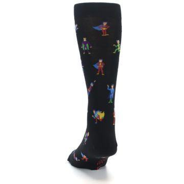 Image of Super Heros Men's Dress Socks (back-17)