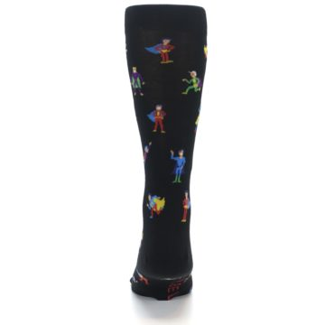 Image of Super Heros Men's Dress Socks (back-18)