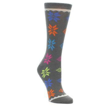 Nordic Fair Isle Women's Wool Blend Socks