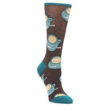 Novelty Coffee Cup Socks for Women
