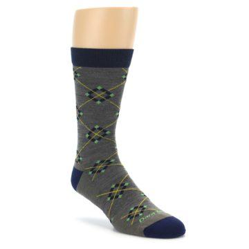 Darn Tough Argyle Taupe Men's Socks