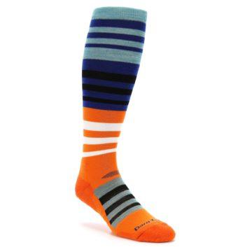 Darn Tough Hojo Orange Men's Ski Snowboard Socks