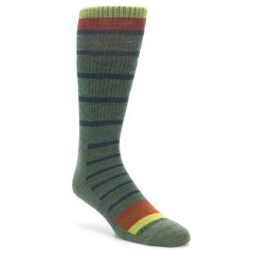 Darn Tough Via Ferrata Olive Boot Socks