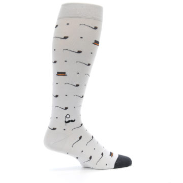 Image of Pipe and Top Hat Men's Over-the-Calf Dress Socks (side-1-24)