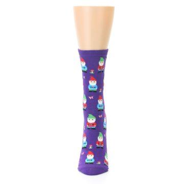 Image of Purple Gnomes Women's Dress Socks (front-05)