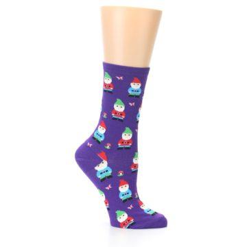 Image of Purple Gnomes Women's Dress Socks (side-1-25)