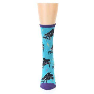 Image of Blue Pianos Women's Dress Socks (front-05)