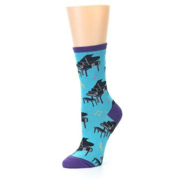 Image of Blue Pianos Women's Dress Socks (side-2-09)