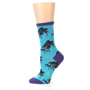 Image of Blue Pianos Women's Dress Socks (side-2-11)