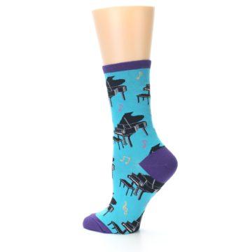 Image of Blue Pianos Women's Dress Socks (side-2-13)