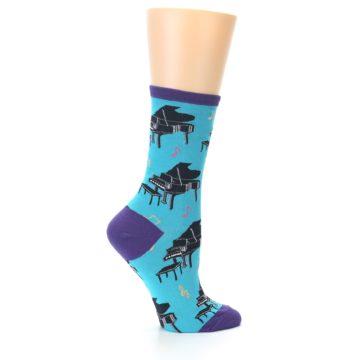 Image of Blue Pianos Women's Dress Socks (side-1-24)