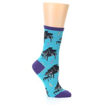 Image of Blue Pianos Women's Dress Socks (side-1-25)