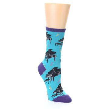 Image of Blue Pianos Women's Dress Socks (side-1-27)