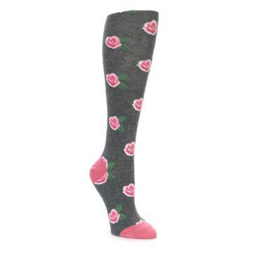Rose Flower Knee High Socks by Socksmith