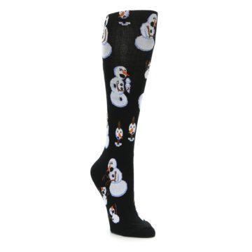 Holiday Christmas Snowman Knee High Socks