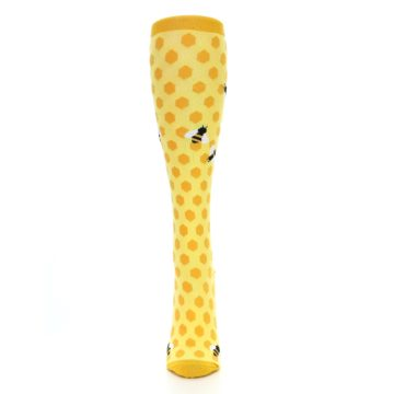 Image of Yellow Bees Women's Knee High Socks (front-05)