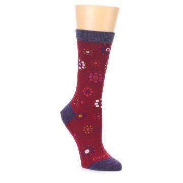 Darn Tough Women's Cranberry Burst Socks