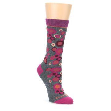 Darn Tough Women's Gray Bubbles Socks