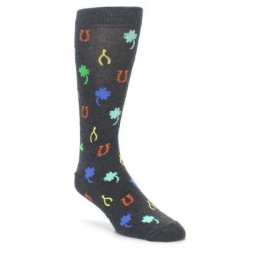 Happy Socks King Size Big and Tall Lucky Charm Socks