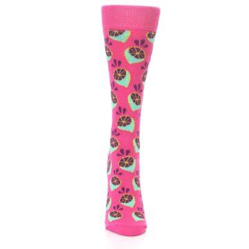 Image of Pink Limes Women's Dress Socks (front-04)