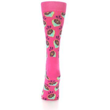 Image of Pink Limes Women's Dress Socks (back-17)