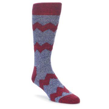 Happy Socks Wool Blend Chevron Stripe