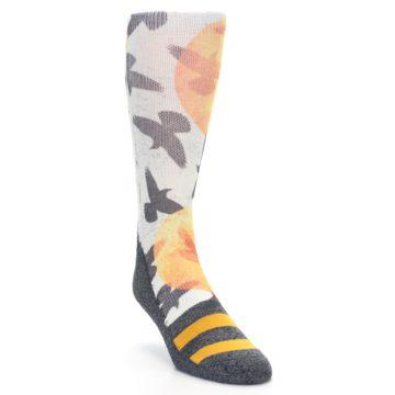 Image of Flock of Birds Men's Casual Socks (side-1-front-02)