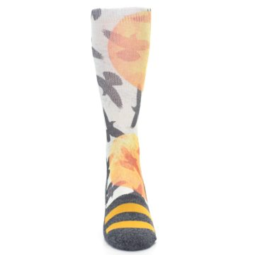Image of Flock of Birds Men's Casual Socks (front-04)