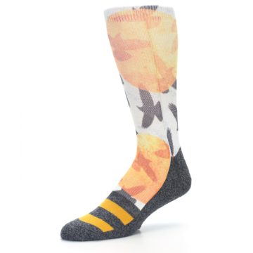 Image of Flock of Birds Men's Casual Socks (side-2-09)