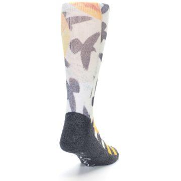 Image of Flock of Birds Men's Casual Socks (side-1-back-20)