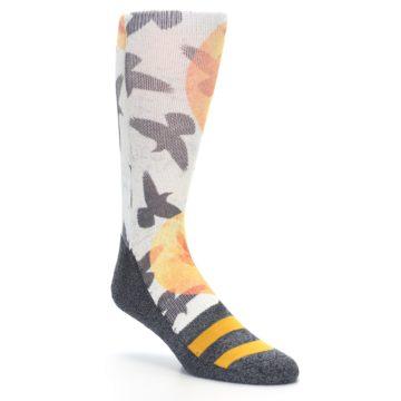 Image of Flock of Birds Men's Casual Socks (side-1-27)