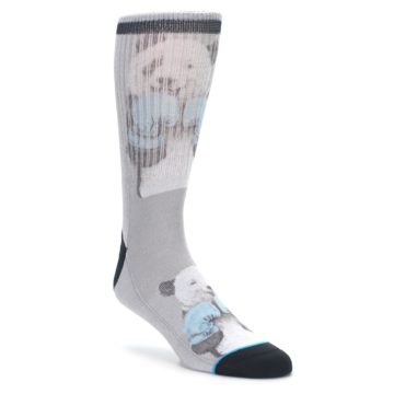 Men's Novelty Boxing Panda Socks