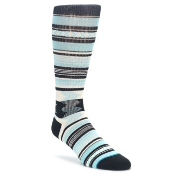 STANCE men's blue black white casual socks