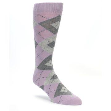 Quartz Wedding Argyle Socks for Groomsmen