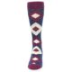 Image of Sangria Navy Argyle Wedding Groomsmen Men's Dress Socks (front-05)