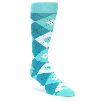 Jade Spa Argyle Wedding Socks for Groomsmen