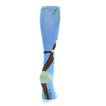 Image of Blue Koala on a Tree Women's Knee High Socks (side-1-back-20)