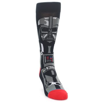 Image of Darth Vader Star Wars Men's Casual Socks (side-1-front-03)
