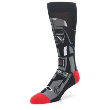 Image of Darth Vader Star Wars Men's Casual Socks (side-2-front-08)