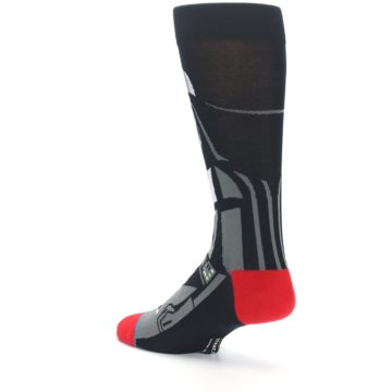 Image of Darth Vader Star Wars Men's Casual Socks (side-2-back-14)