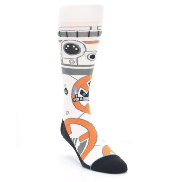 Image of BB-8 Thumbs Up Star Wars Men's Casual Socks (side-1-front-02)